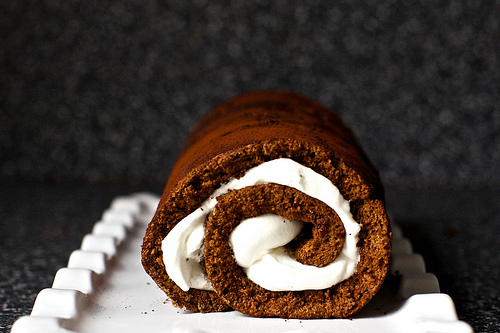 Heavenly Chocolate Cake roll