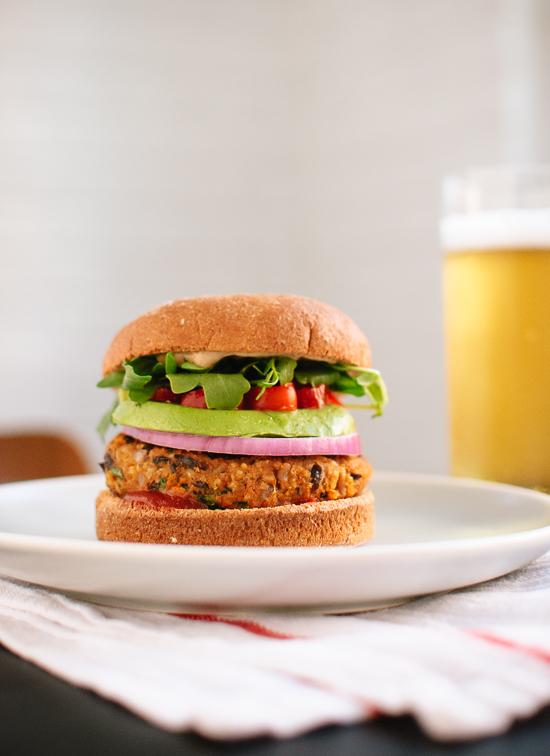 sweet-potato-black-bean-veggie-burgers