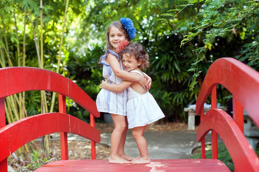 sister hugging miami