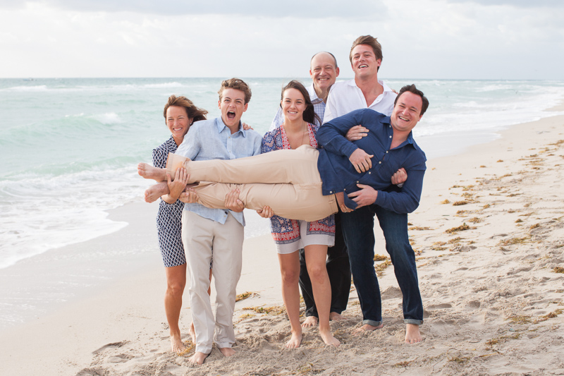 Miami Family Birthday Photo Session