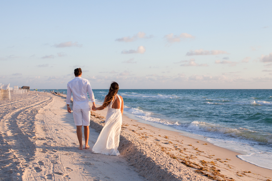 miami sunrise wedding