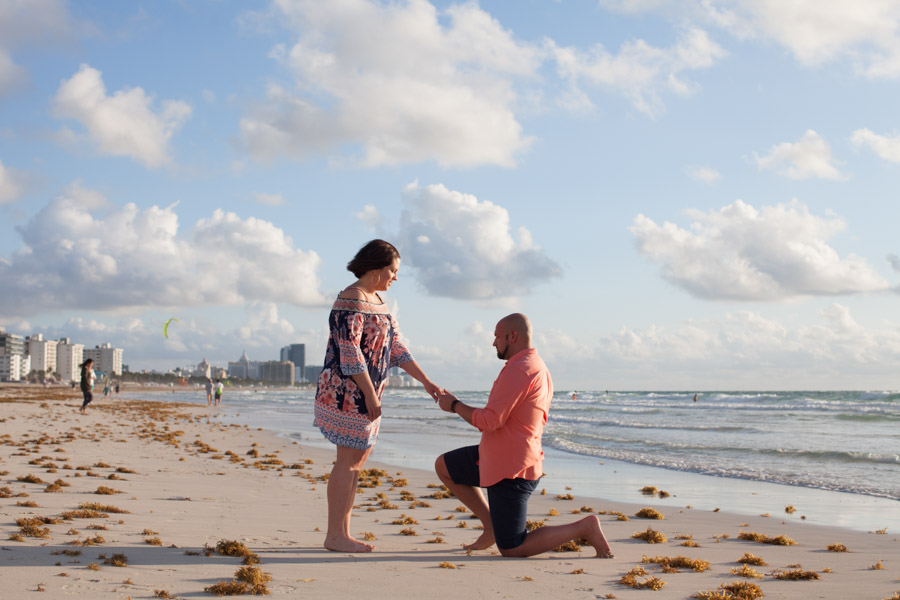 Miami Beach Proposal Photography