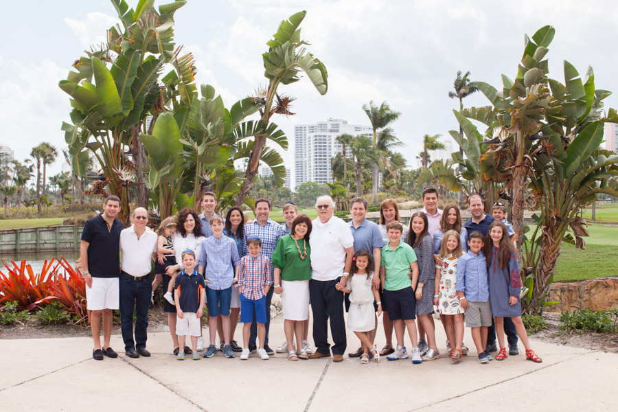 Large Family Photos Miami