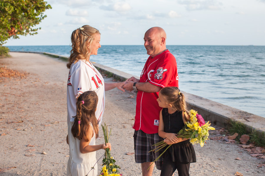 Key Biscayne Wedding Ceremony