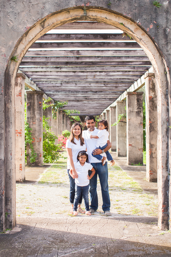 Family Photos Coral Gables Prado Entrance