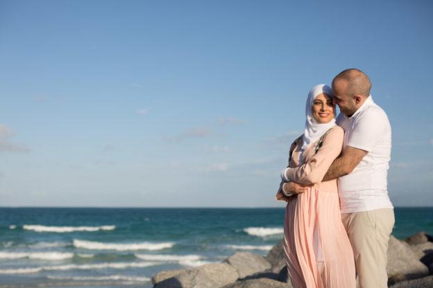 Miami Beach Couple Photo Shoot