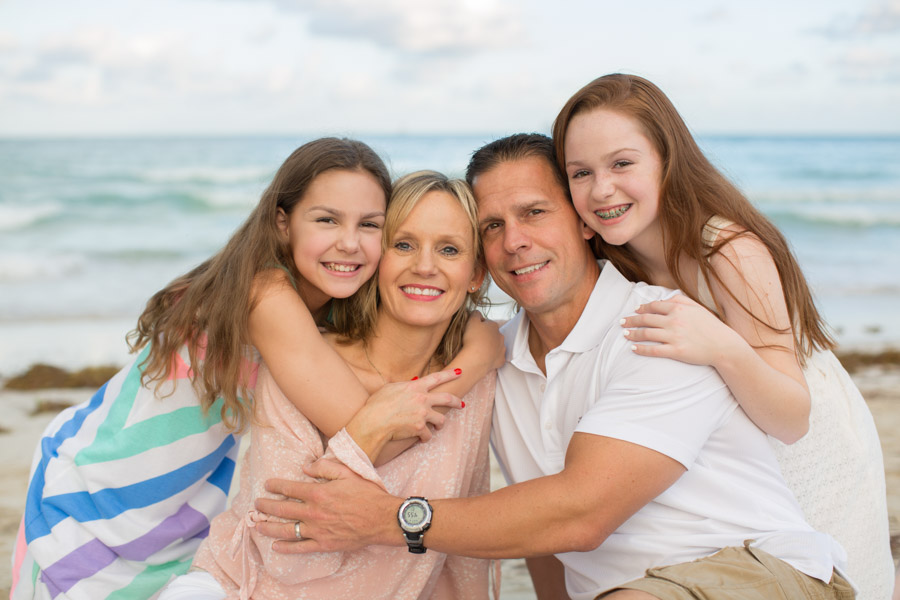 Miami Beach Family Photographer Sunset Session