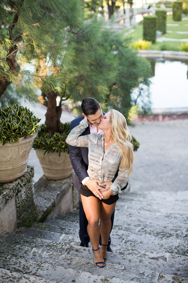 Vizcaya Proposal Photography Session