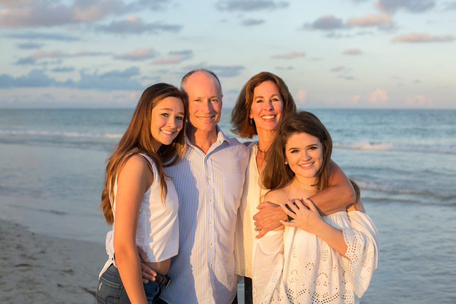 Family Four Miami Beach Photographer