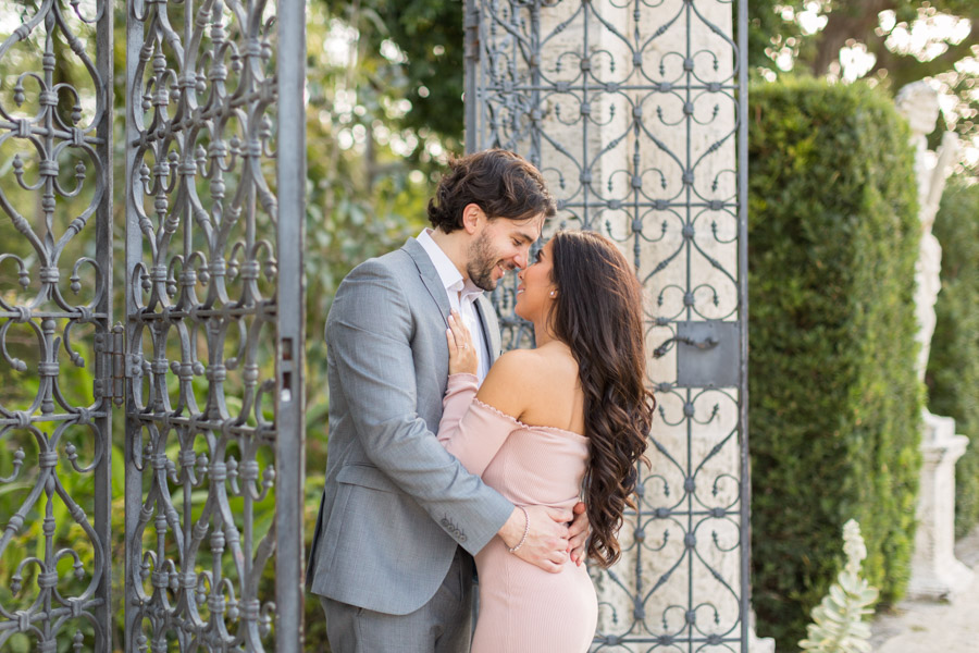 Vizcaya Proposal and Engagement Photographer