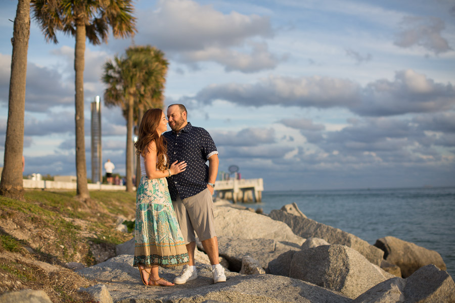 Miami Beach Surprise Proposal Photo Session