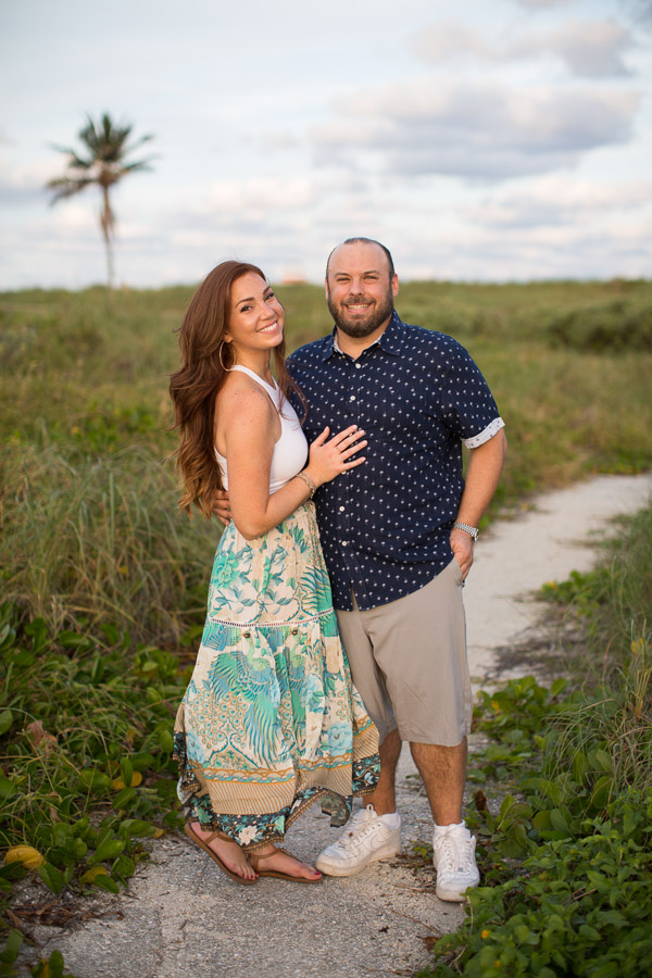 Couple Photo Session South Beach Florida