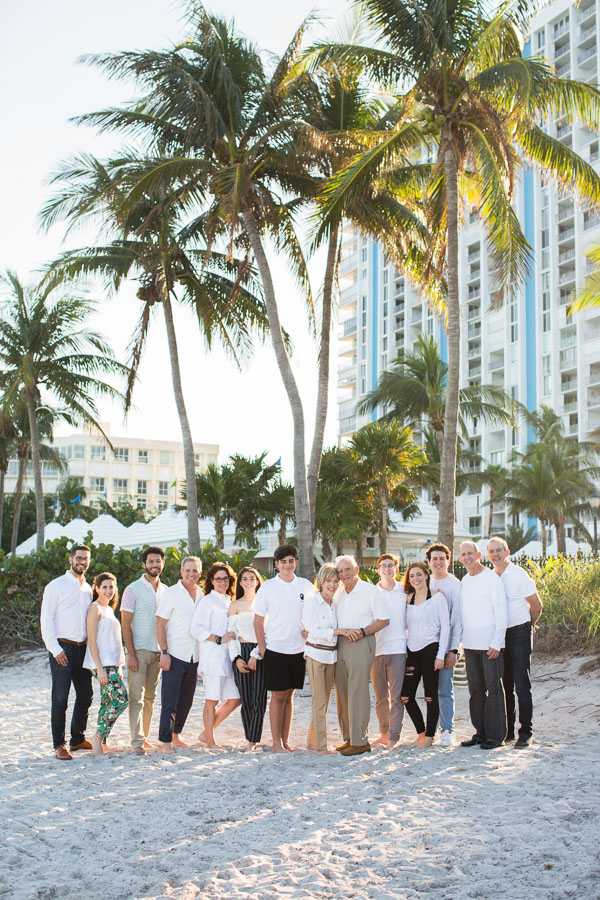 Key Biscayne Extended Family Photo Session
