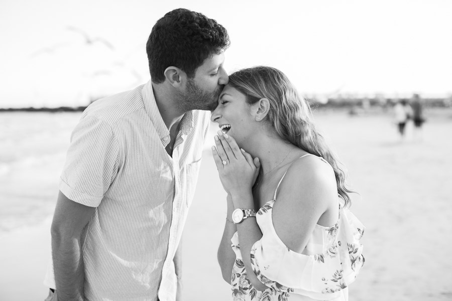 South Beach Surprise Proposal Photographer