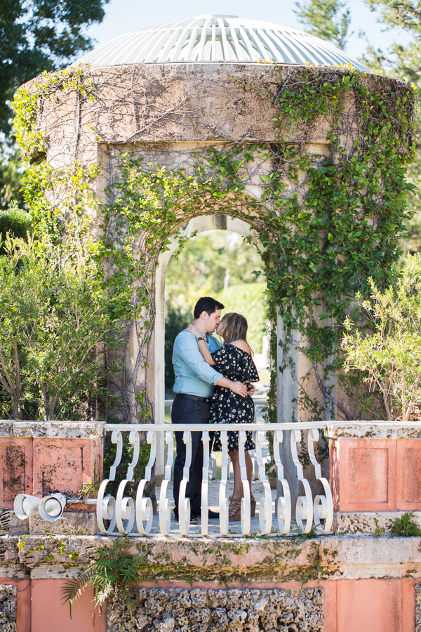 Vizcaya Proposal and Engagement Photography