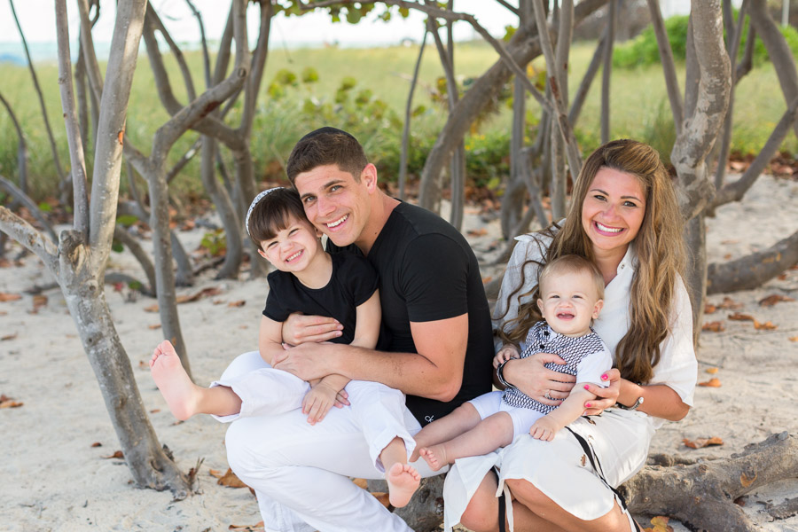 Family Photo Session Grand Beach Hotel Surfside