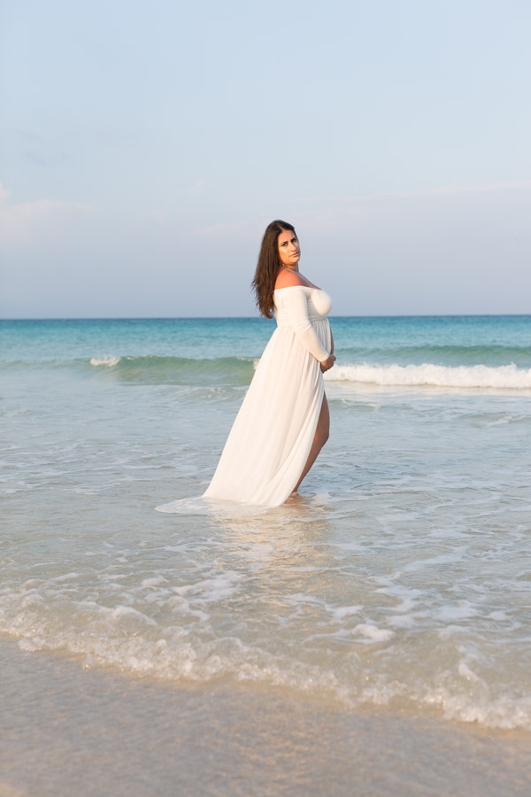 Miami Beach Maternity Photographer Sunset Session