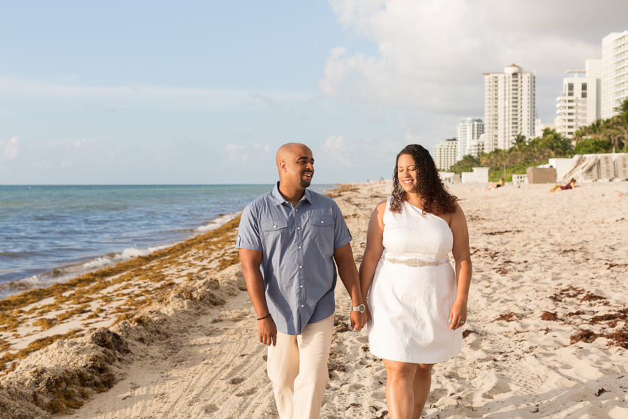 Miami Honeymoon Beach Photo Session
