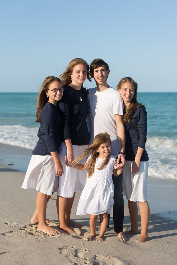 Collins Avenue Family Photo Shoot on the Beach