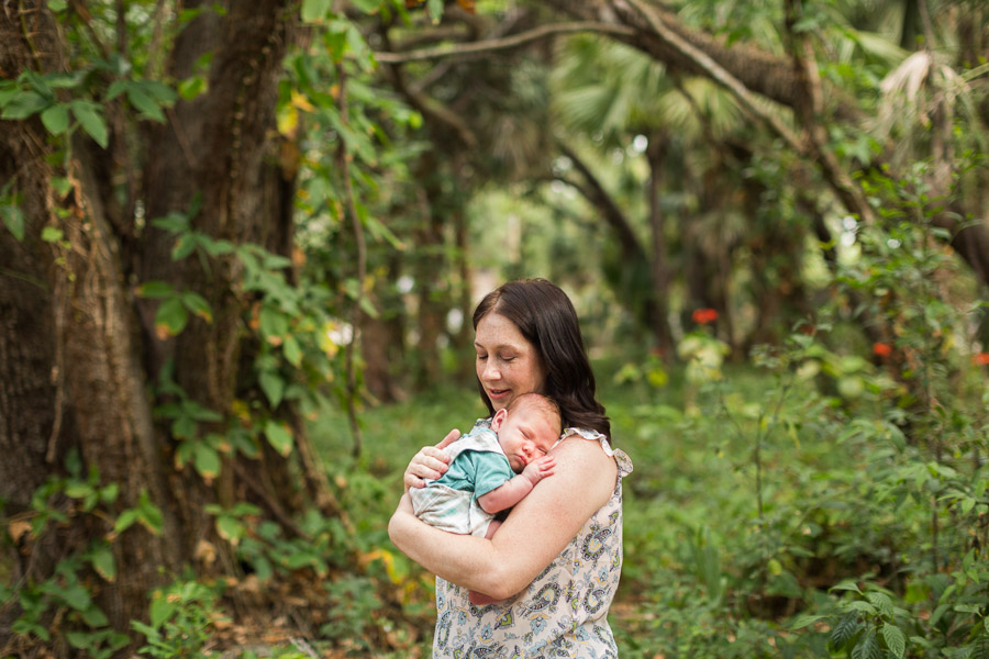 Enchanted Forest Park Newborn Photography Session