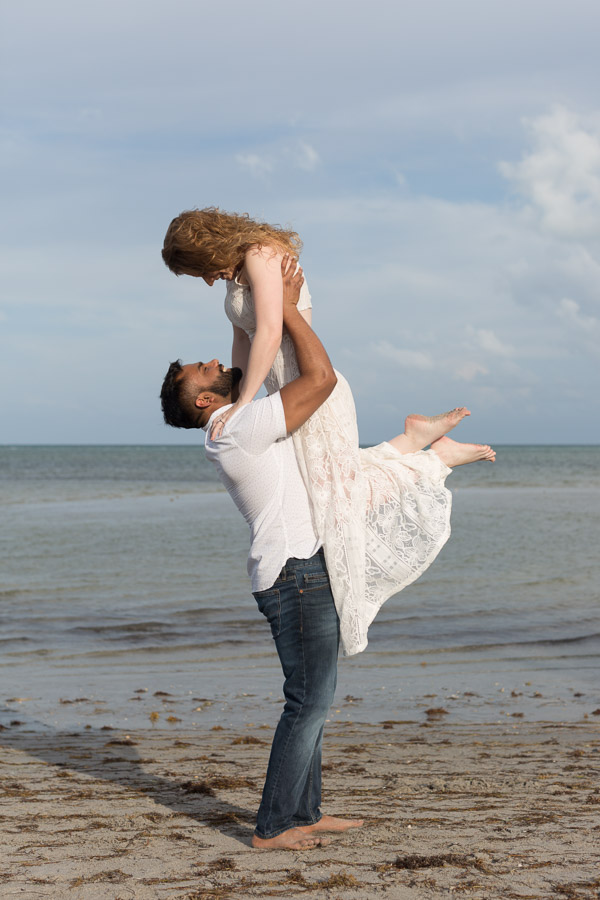 Crandon Park Engagement Photo Shoot Key Biscayne Florida