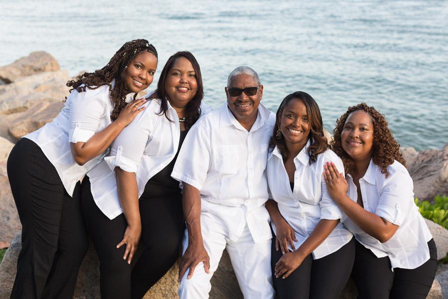 Family Outdoor Business Photos Miami Beach