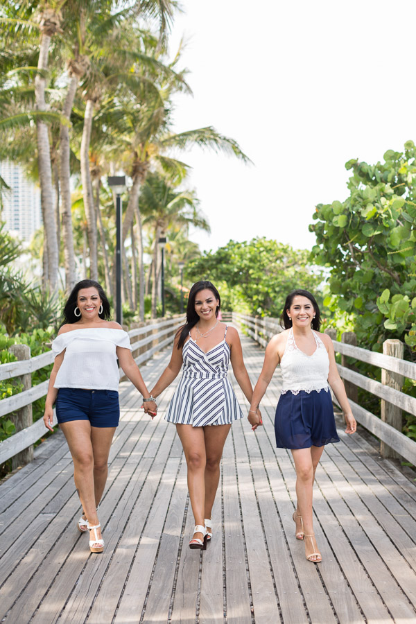Fontainebleau Friends Photo Shoot Miami Beach