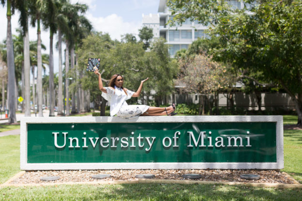 University of Miami Graduate Photo Session