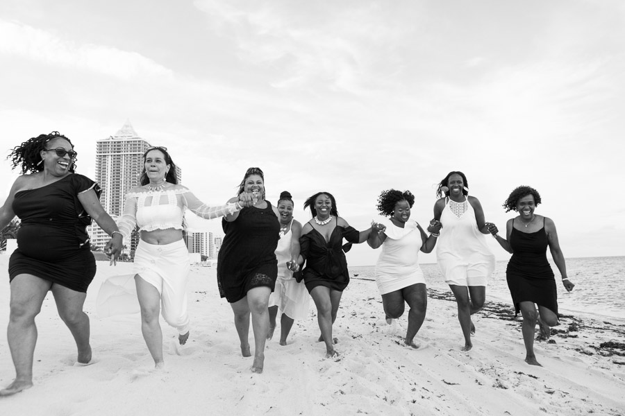 Eden Roc Hotel Miami Beach Birthday Friends Photo Shoot