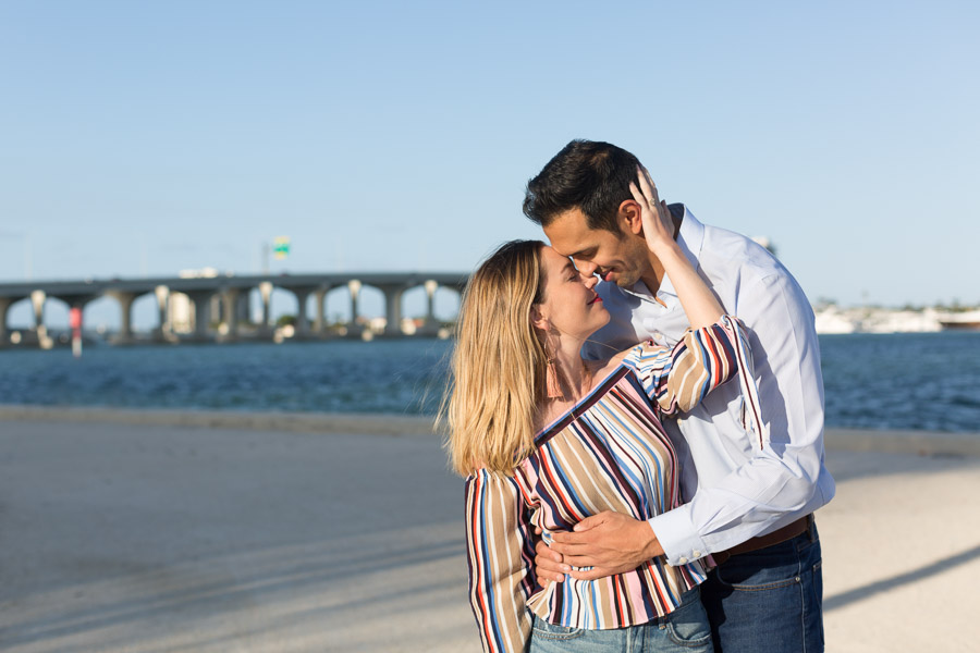 Museum Park Downtown Miami Surprise Proposal Photography