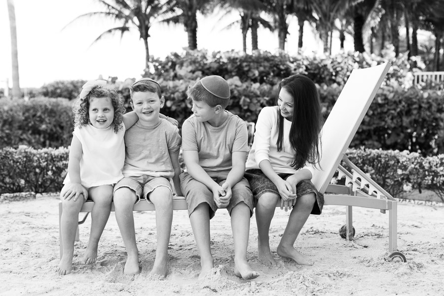Family of Seven Surfside Florida Photographer
