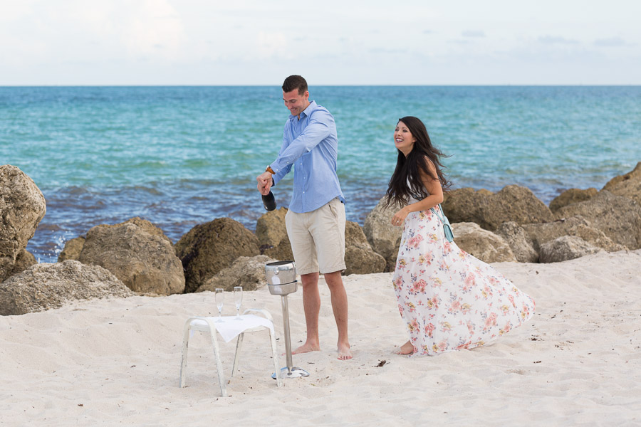 The Palms Hotel and Spa Proposal Photo Shoot in Miami Beach