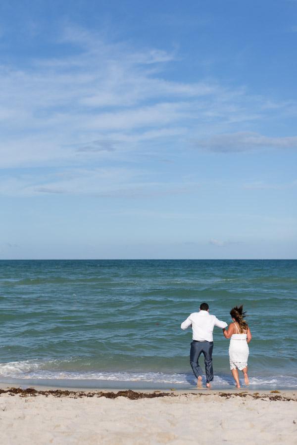 Collins Park and Setai Miami Beach Couple Anniversary Photographer