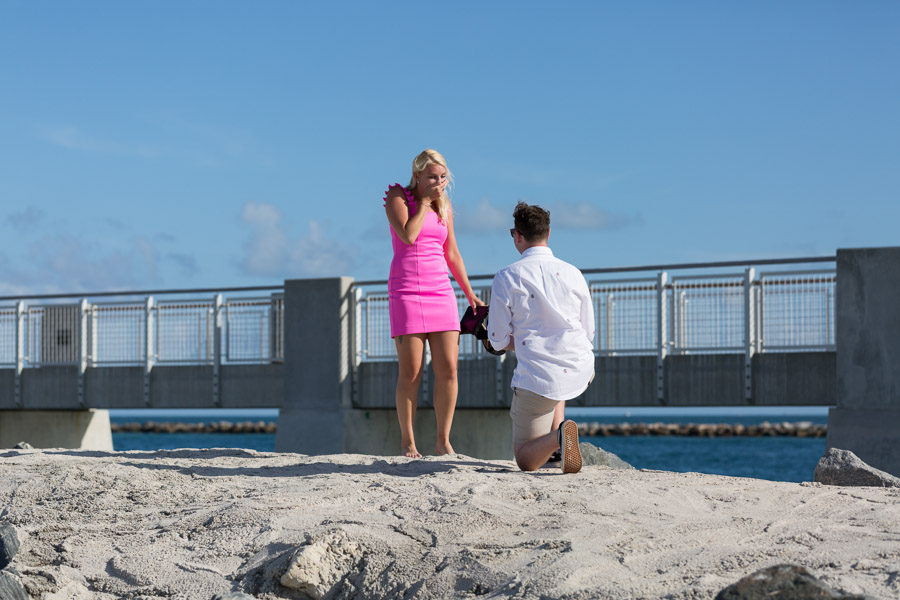 South Pointe Pier Proposal Miami Beach Photographer