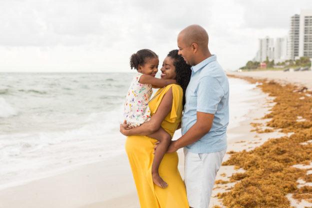 Family of Three Miami Maternity Photographer