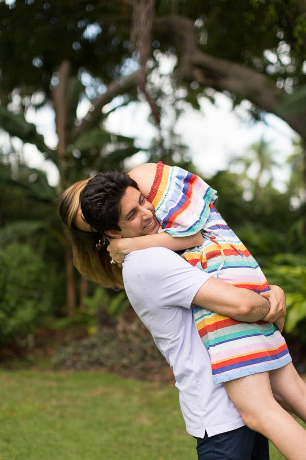 Miami Beach Botanical Gardens Engagement Photographer