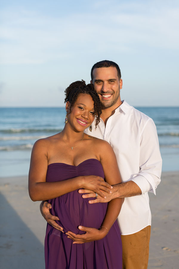 Miami Beach Maternity Photographer South Pointe Park Session