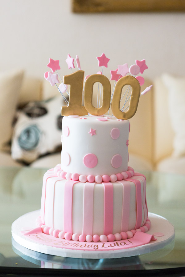 100 Years Old Birthday Photo Session