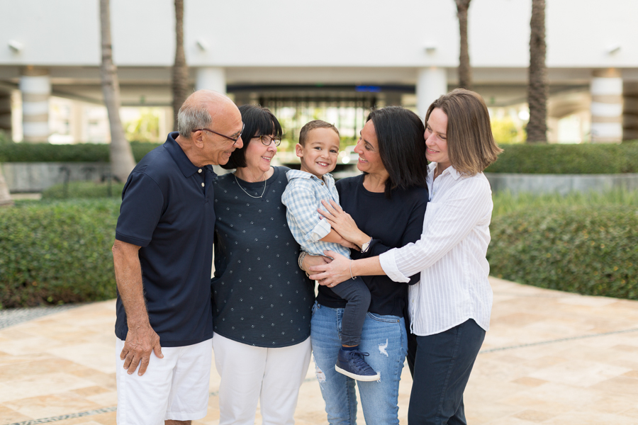 Family Photography Session at the Carillon Miami Beach Hotel