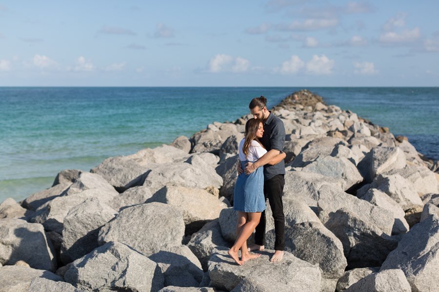 Couple Proposal Miami Beach