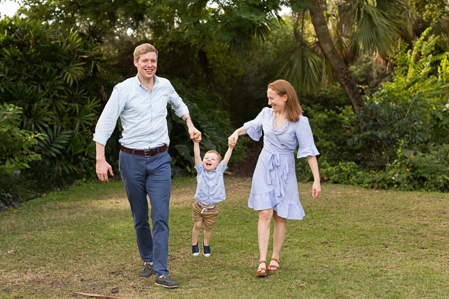 Family Photography Session at Miami Beach Botanical Garden