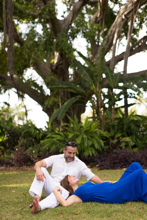 Miami Beach Botanical Garden Maternity Session
