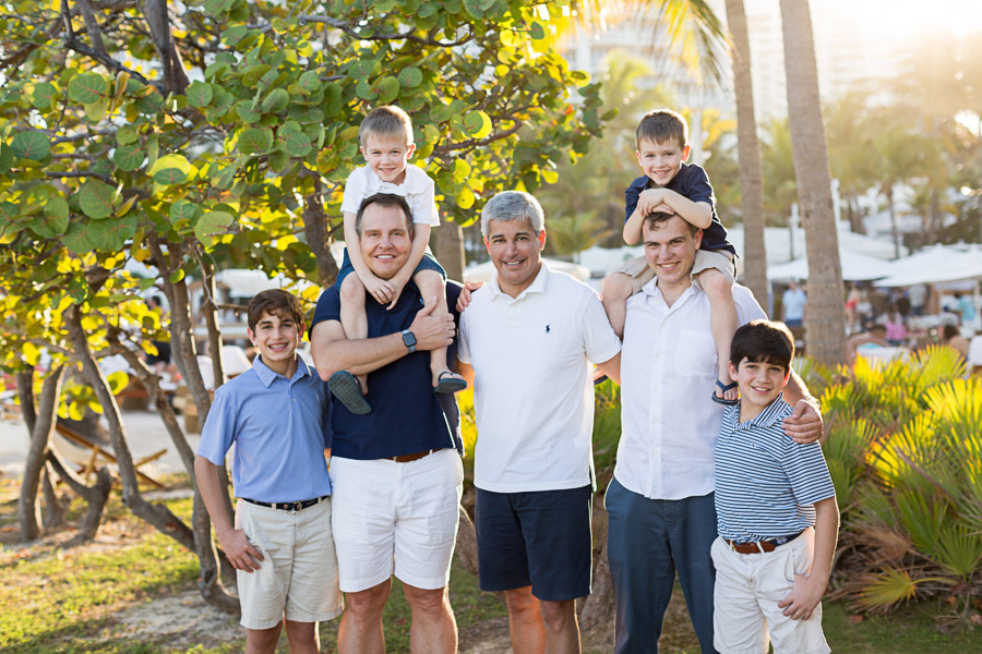 Nikki Beach Family Photography Session in South Beach, Florida