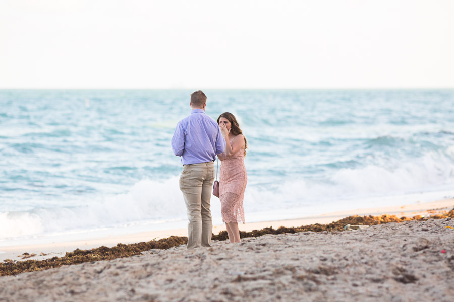 Ritz Carlton Bal Harbour Surprise Proposal Photographer