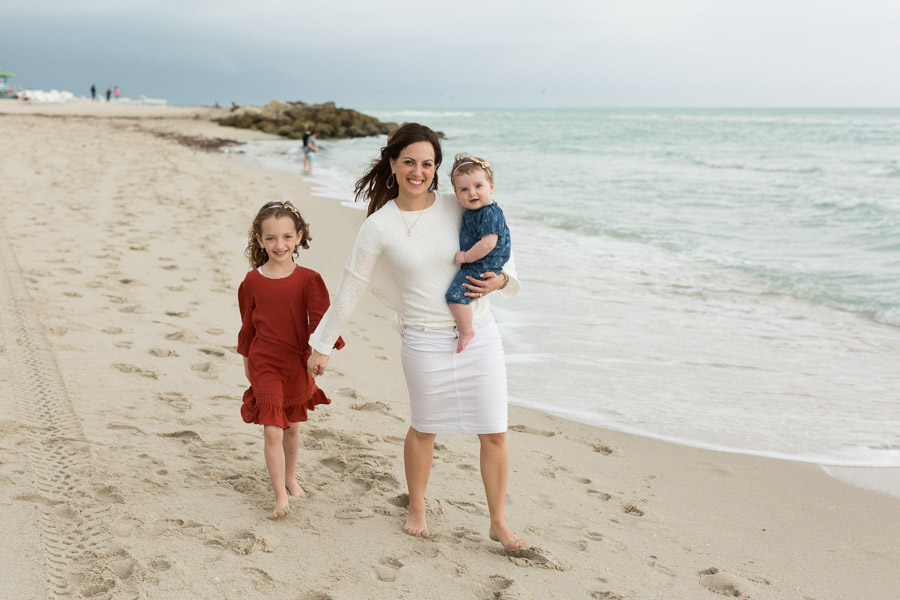 Family Five Photography Session Mirasol Ocean Towers
