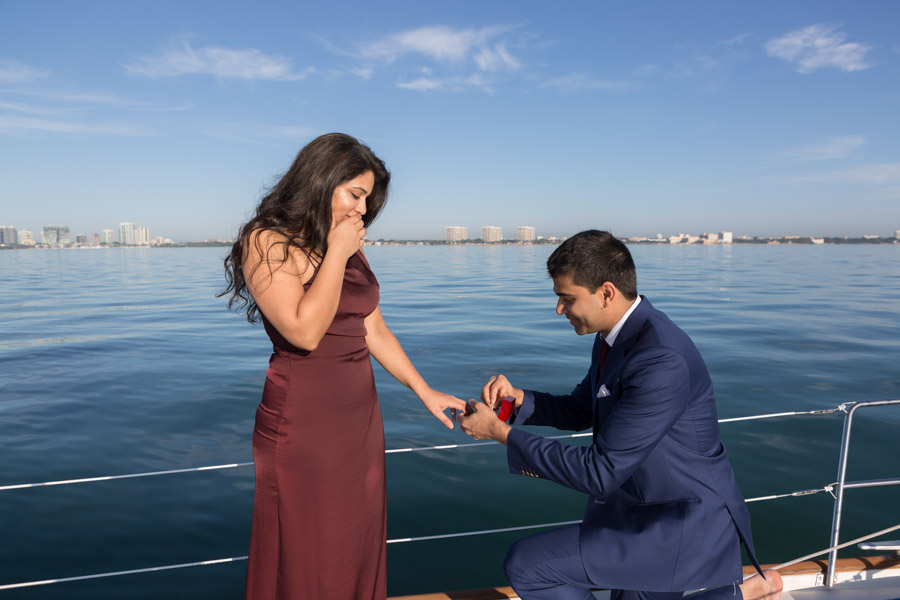 Miami Sunrise Boat Proposal