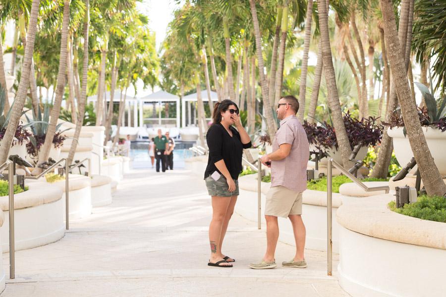 Loews Miami Beach Hotel Proposal Photographer