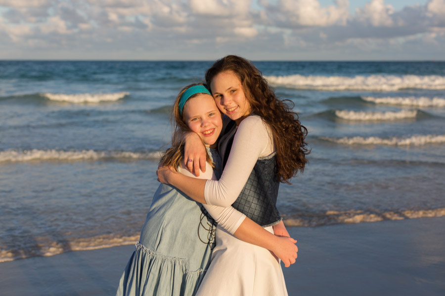 Miami Family Beach Photo Shoot Sunset