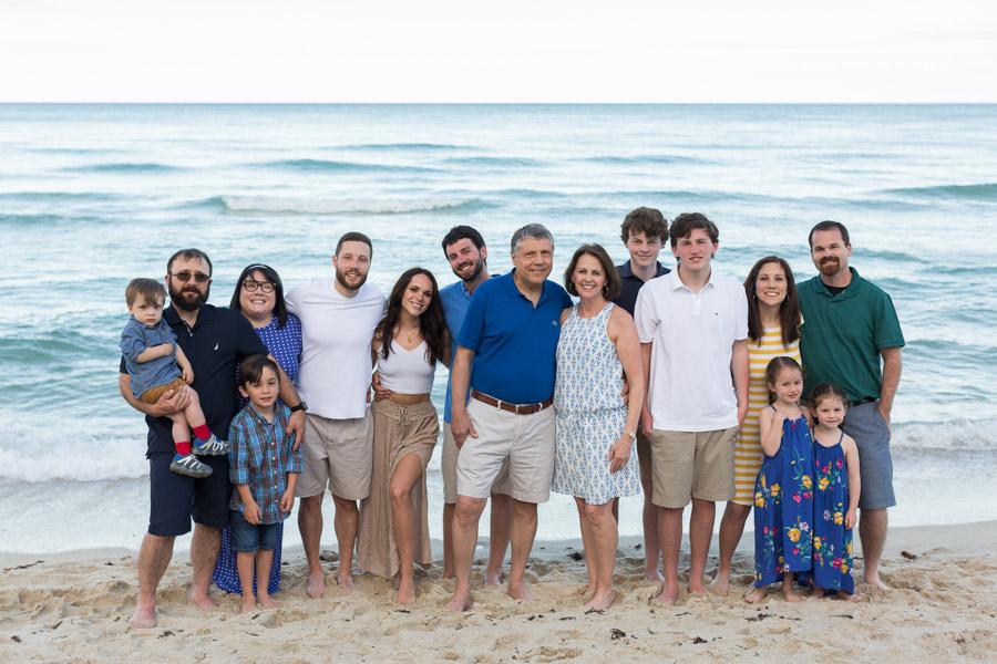 Hilton Cabana Miami Beach Extended Family Portrait