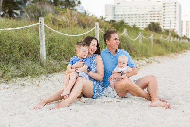 Mare Azur Monte Carlo Miami Family Beach Photographer